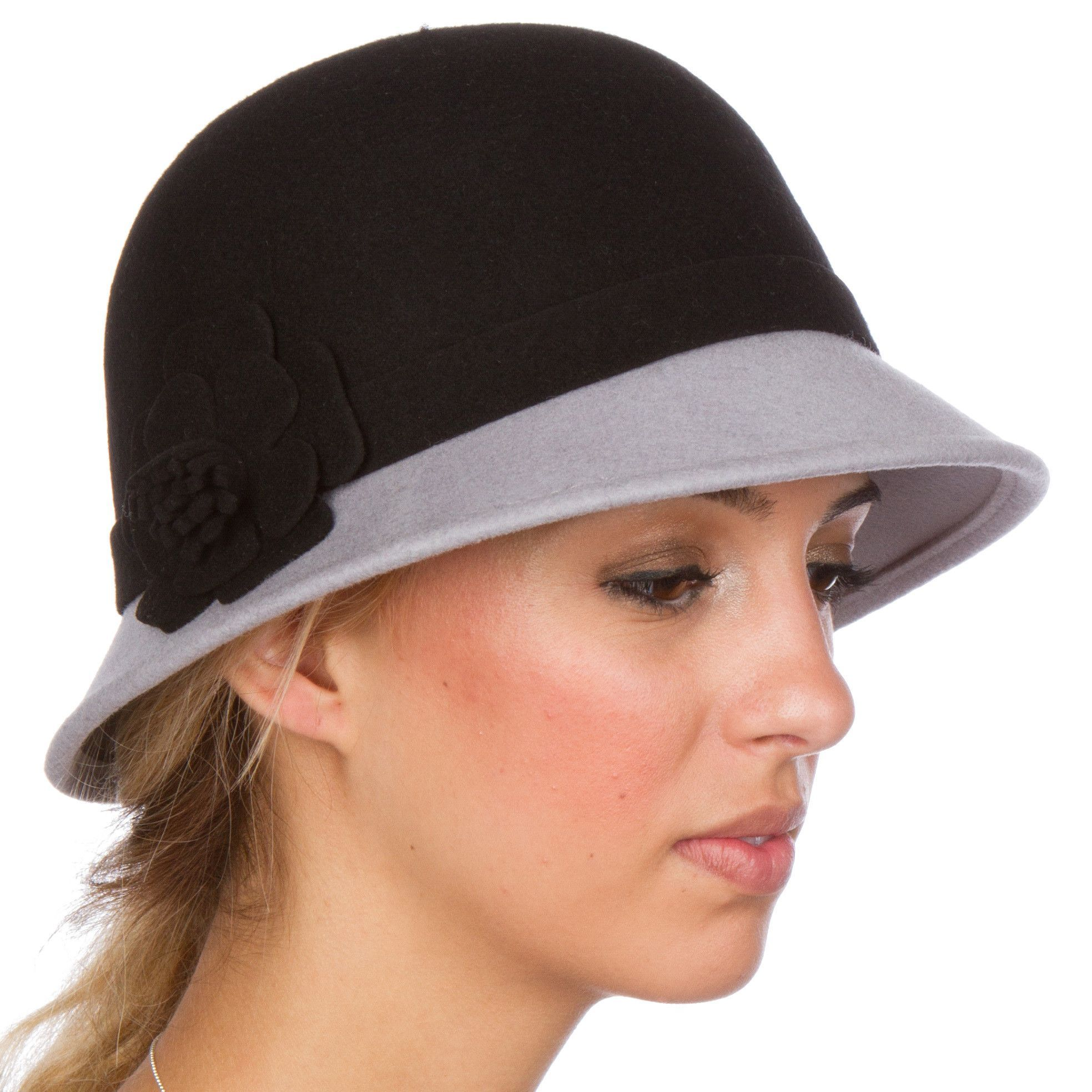 a74f7a1f5 Sakkas Sophia Vintage Style Wool Cloche Hat | Products | Cloche hat ...