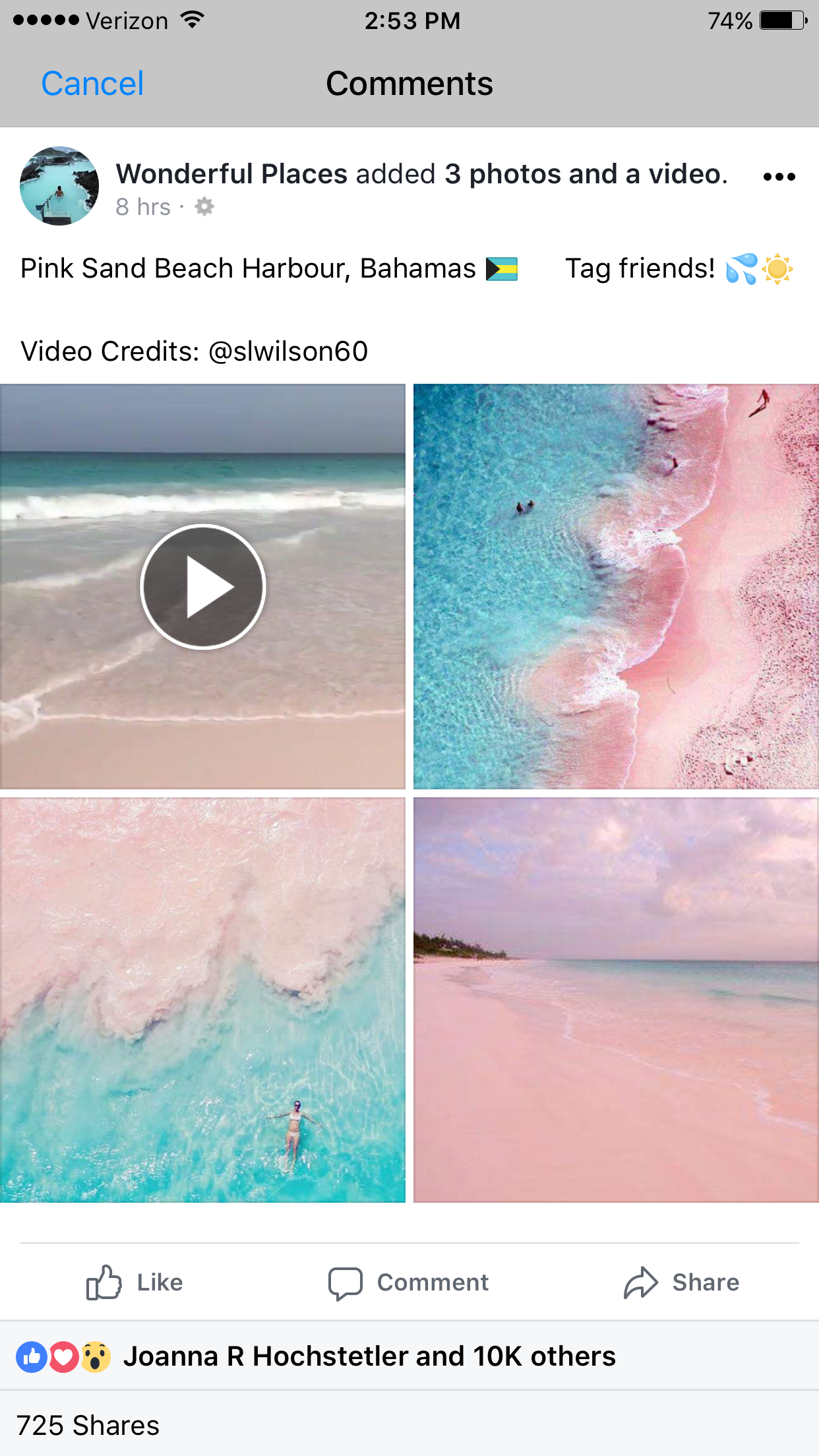 Pin by Caitlyn Wagler on My Wanderlust Pink sand beach