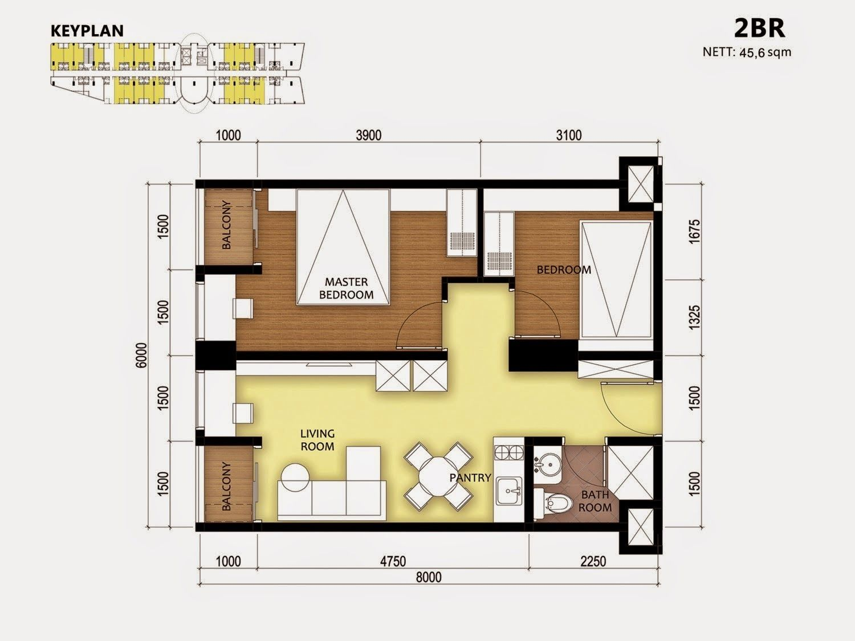 45 sqm apartment design Google Search Group housing