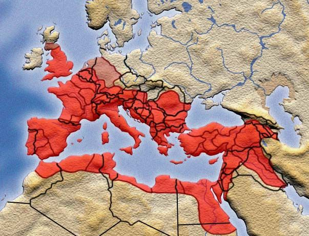 comparison of byzantine empire and ancient When the roman empire dissolved into eastern and western entities,   dominated by ancient civilizations that predated rome, the east was.