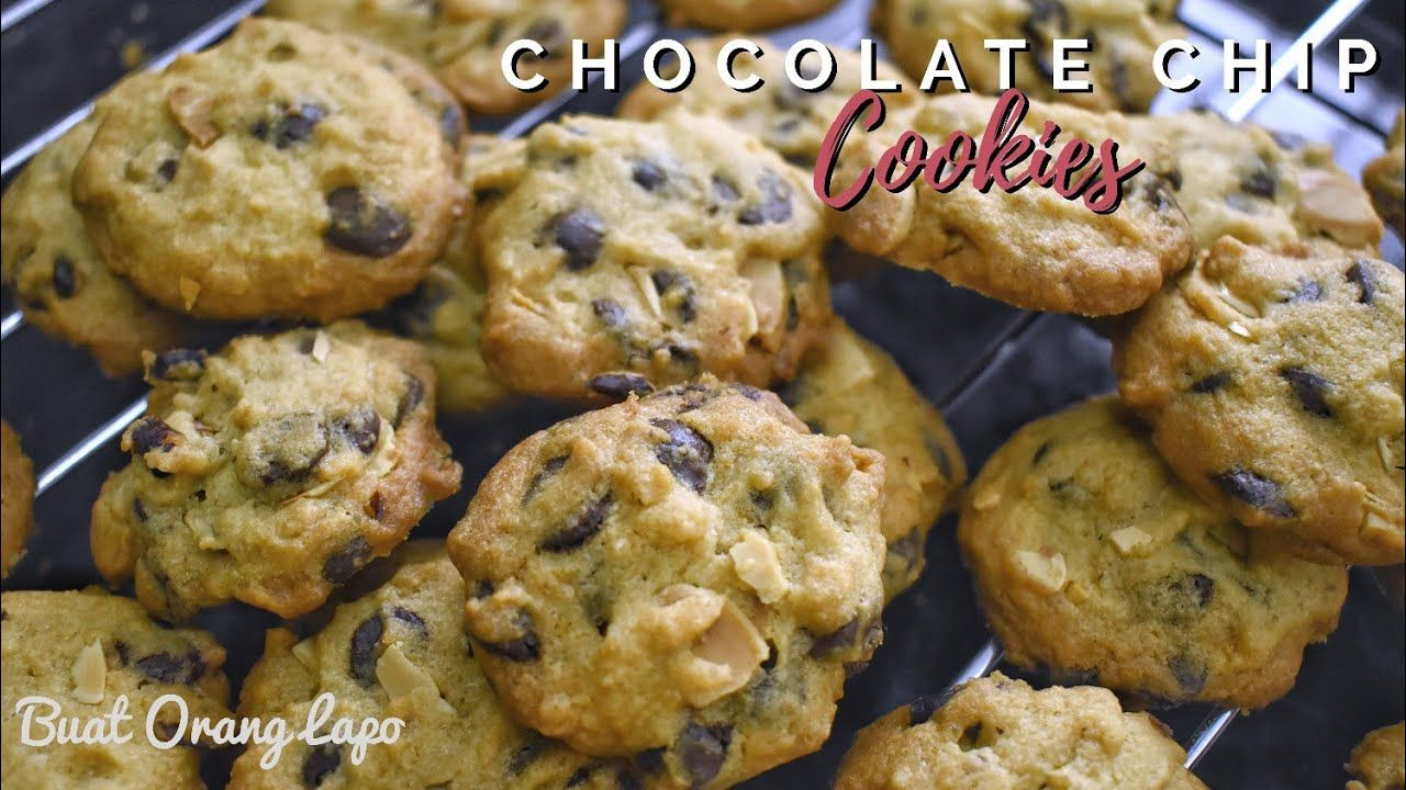 How To Make Crunchy Chocolate Chip Cookies Recipe Resepi Biskut Raya C Crunchy Chocolate Chip Cookies Cookies Recipes Chocolate Chip Chocolate Chip Cookies