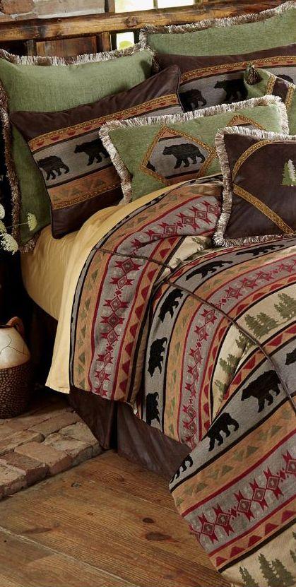 Rustic Bedding Sets For 2020 Cabin Bedding Sets Cabin Bed