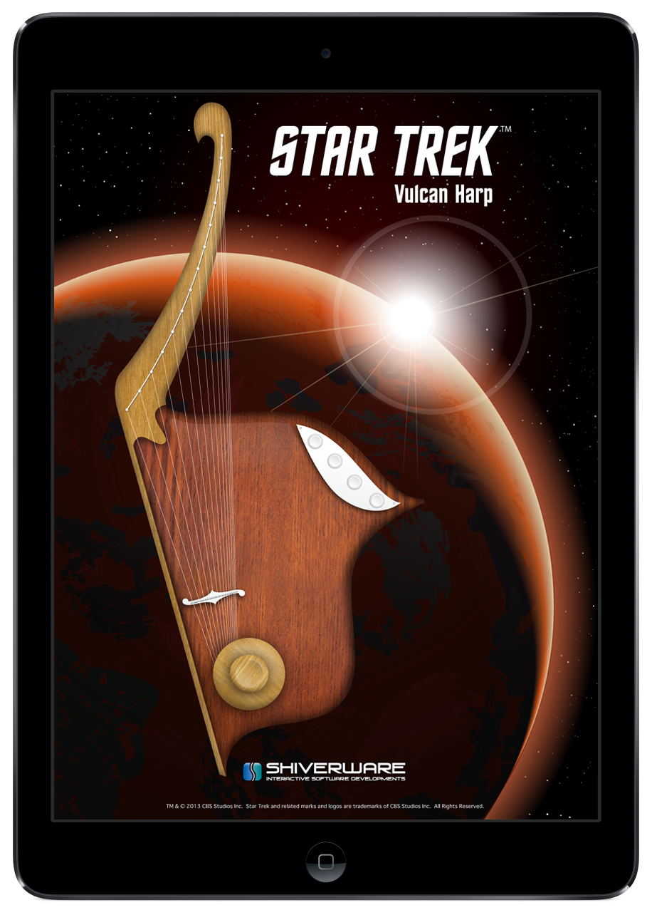 FIRST LOOK (AND HEAR) Vulcan Harp App for iPad Star