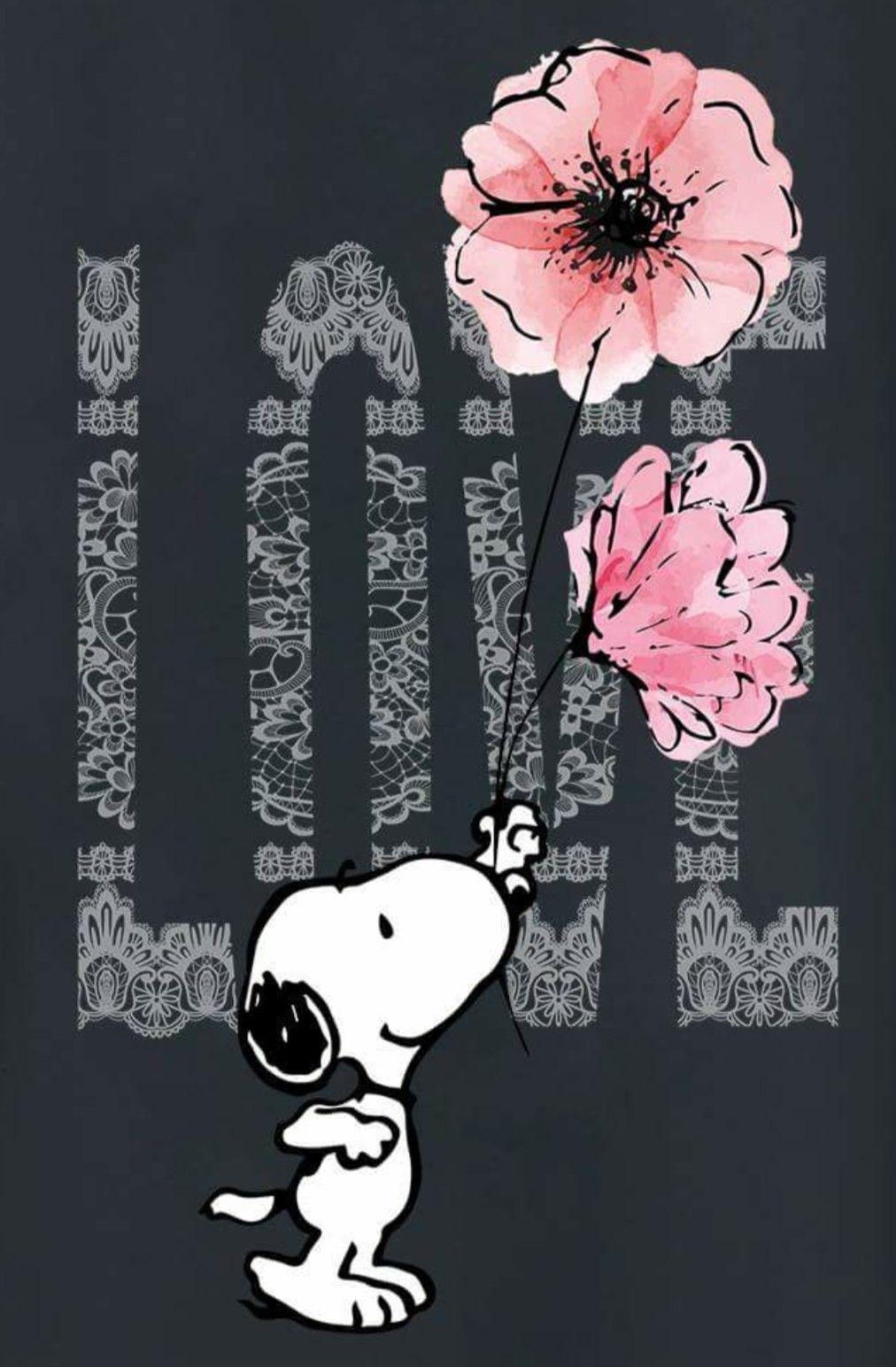 Suss Ich Liebe Dich Du Bist Bezaubernd Daizo Snoopy Pinterest