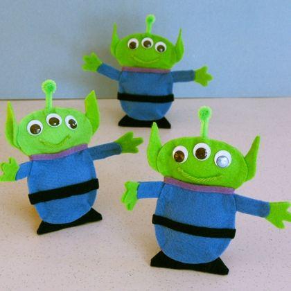Three Eyed Alien Pal Aliens Third And Craft