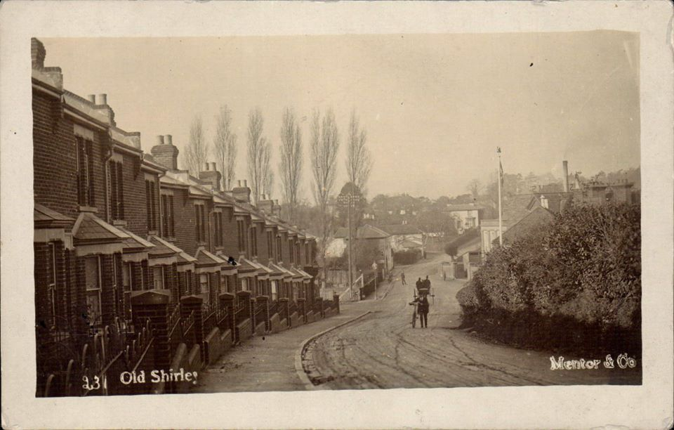 Old Shirley from near Redcar Street