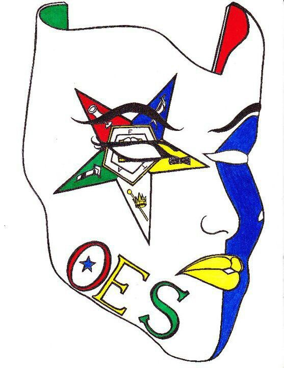 oes mask oes 4 life pinterest masking and eastern star rh pinterest com oes clip art images oes clip art vector