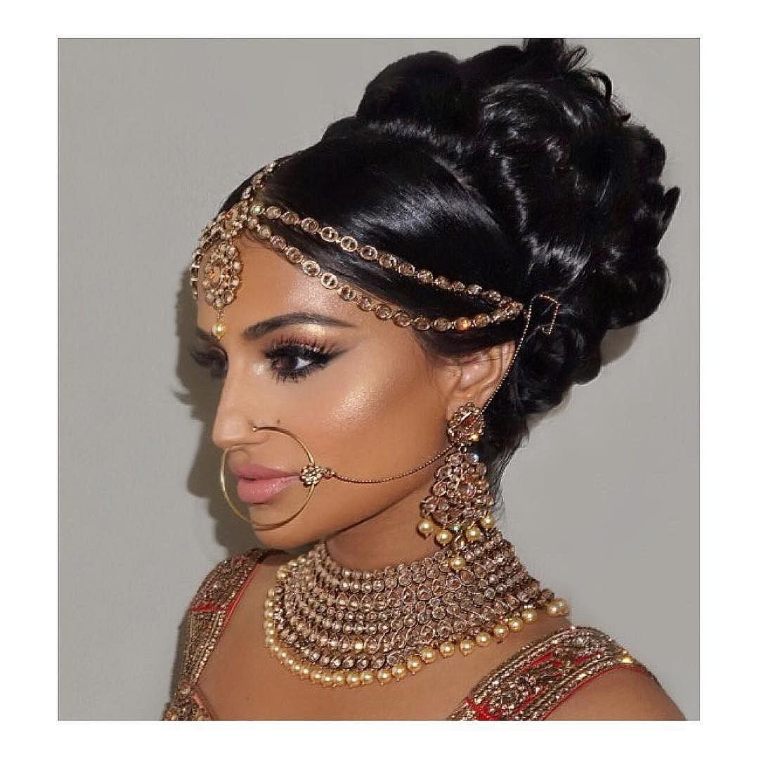 """c9b8c3eff0b """"Gorgeous 😍🔪 Beautiful Bridal Glam by @makeupbysamuel using @LillyLashes  in style"""