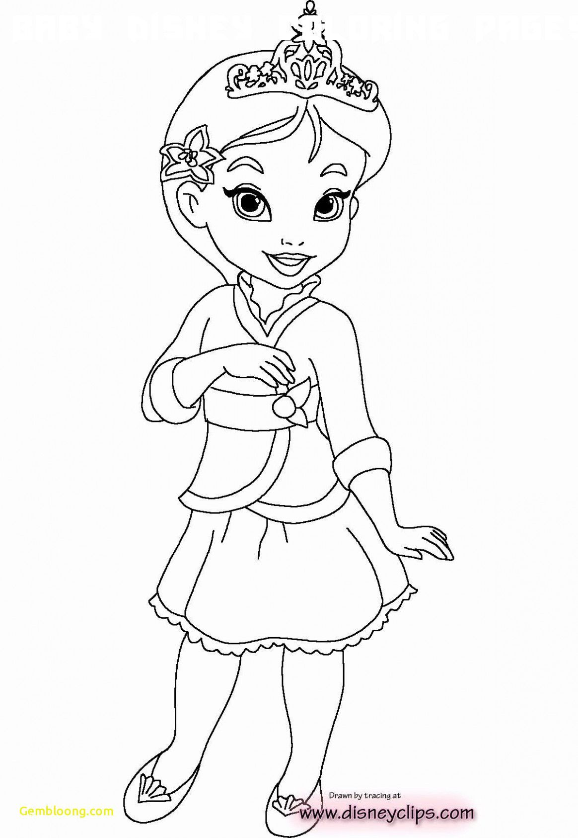 6 Baby Disney Coloring Pages In 2020 Disney Princess Coloring Pages Princess Coloring Pages Princess Coloring