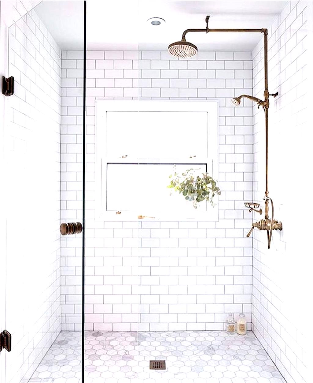 Bathroom Decor Gray And White Half Bathroom Vanities Left Side Drawers As Modern Bathr Bathroom Shower Design Bathroom Shower Organization Bathroom Shower Tile