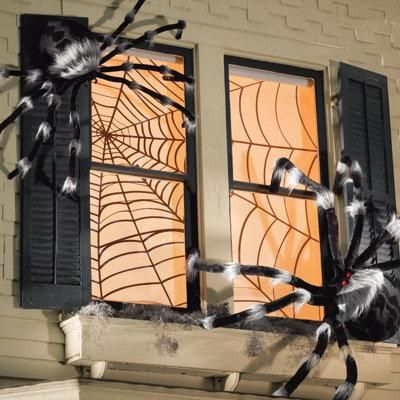 Halloween decorations  IDEAS  INSPIRATIONS Spider Web Double - spider web decoration for halloween
