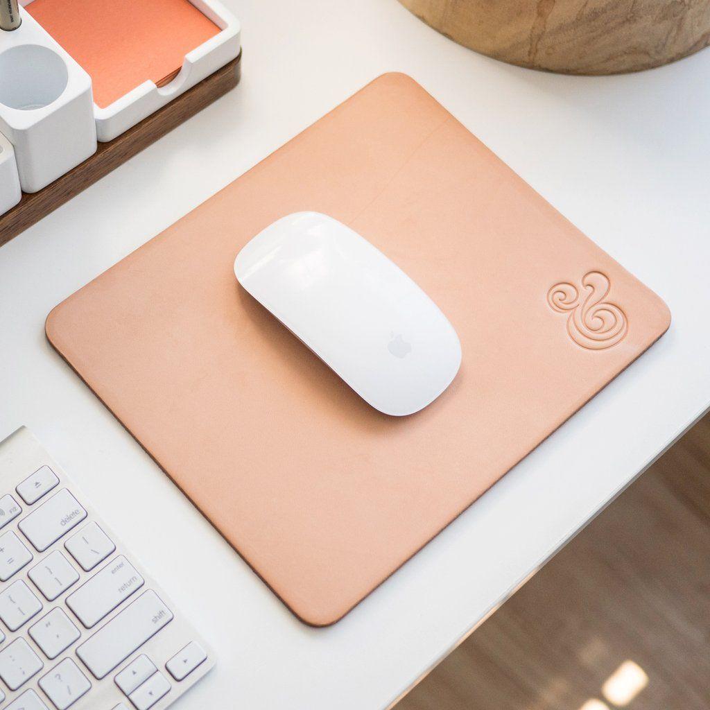 Premium Leather Mousepad Ugmonk Logo Natural Leather Mouse Pad Mouse Pad Design Mouse Pad
