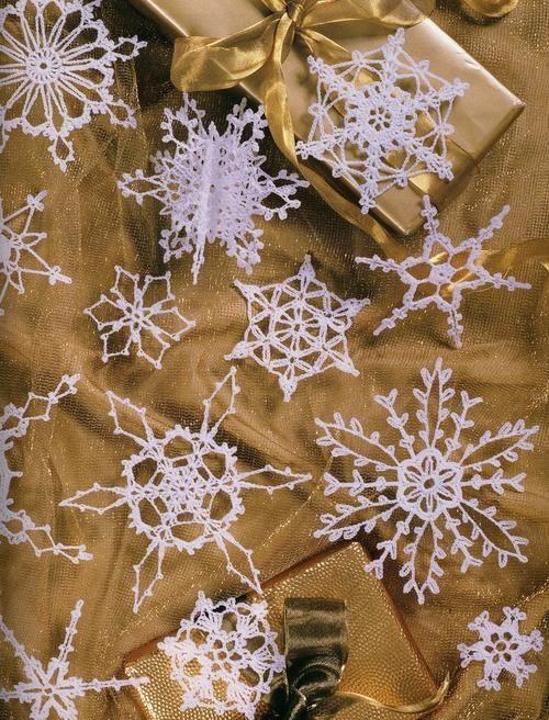 99 Crochet Snowflakes Patterns Book | Snowflakes & Bells & Crosses ...