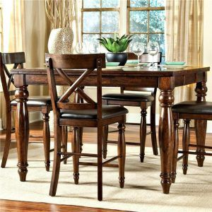 Alonzo Counter Height Extension Butterfly Dining Room Table