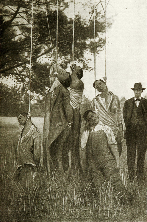 Lynched lynching practice black people being group