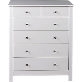 Osaka 4 2 Drawer Chest White At Argos Co Uk