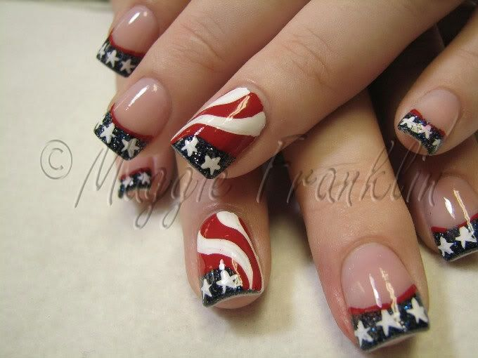 4th of July Fun! | Expensive Nails | Pinterest | Arte de uñas y Arte
