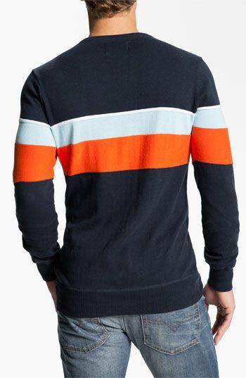 Hurley 'Hanger' Stripe Crewneck Sweater | Nordstrom