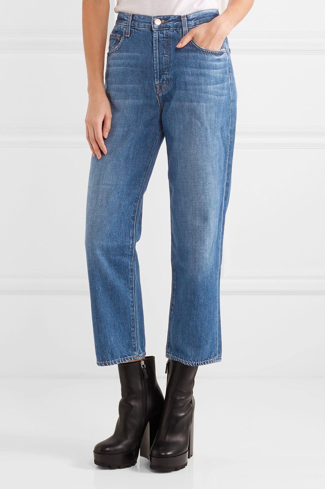Lierre Recadrée Jeans - Bleu Marque J Xvrmfey