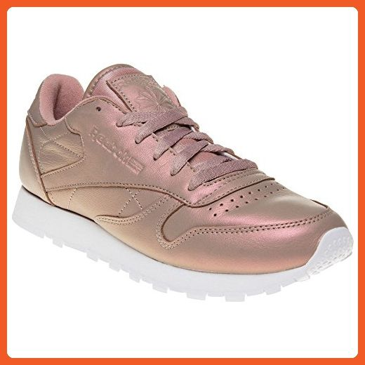 394c25ed241aa Reebok Classic Leather Pearlized Womens Sneakers Pink - Athletic shoes for  women ( Amazon Partner-Link)