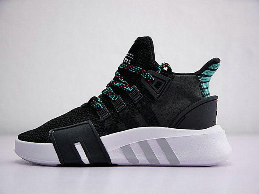 0f53539a7e4b Adidas EQT Basketball ADV Men Lifestyle s New Black Green Cq2993 Top  Quality Shoe