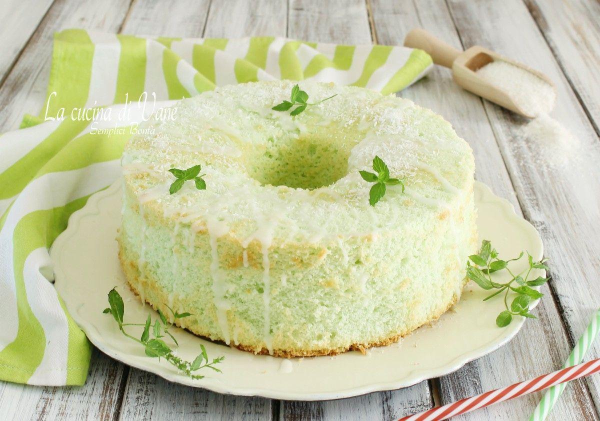 CHIFFON CAKE COCCO E MENTA da provare in questa versione estiva dal ...