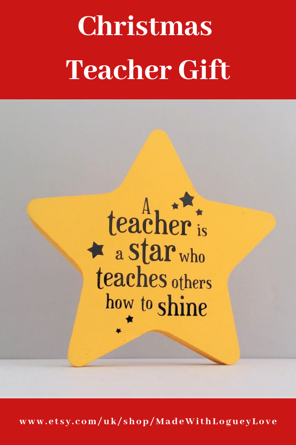 Gifts for teachers, Thank you teacher gifts, Star teacher end of year gift, Teacher gift ideas, Christmas teacher gift, Special teacher gift #eceappreciationgiftideas
