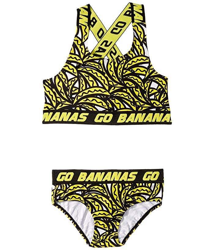 40856f5496 Stella McCartney Banana Bikini (Toddler/Little Kids/Big Kids ...
