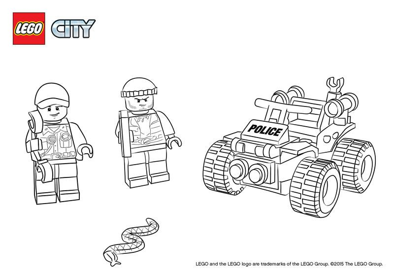 Lego City Police Officers Coloring Pages. Also see the