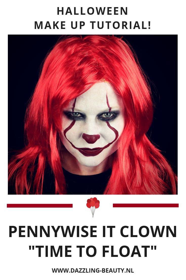 Pennywise It Clown in 2020 Halloween ideeën, Make up en