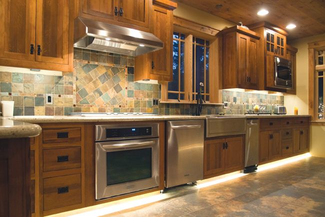 Two Kitchens Four Lighting Ideas From Under Kitchen Cabinet Lighting