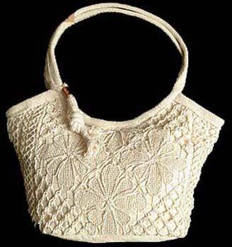 7e25d149d Fotos de BOLSA FORRADA COM RENDA FILÉ Fortaleza | Crochet bags ...