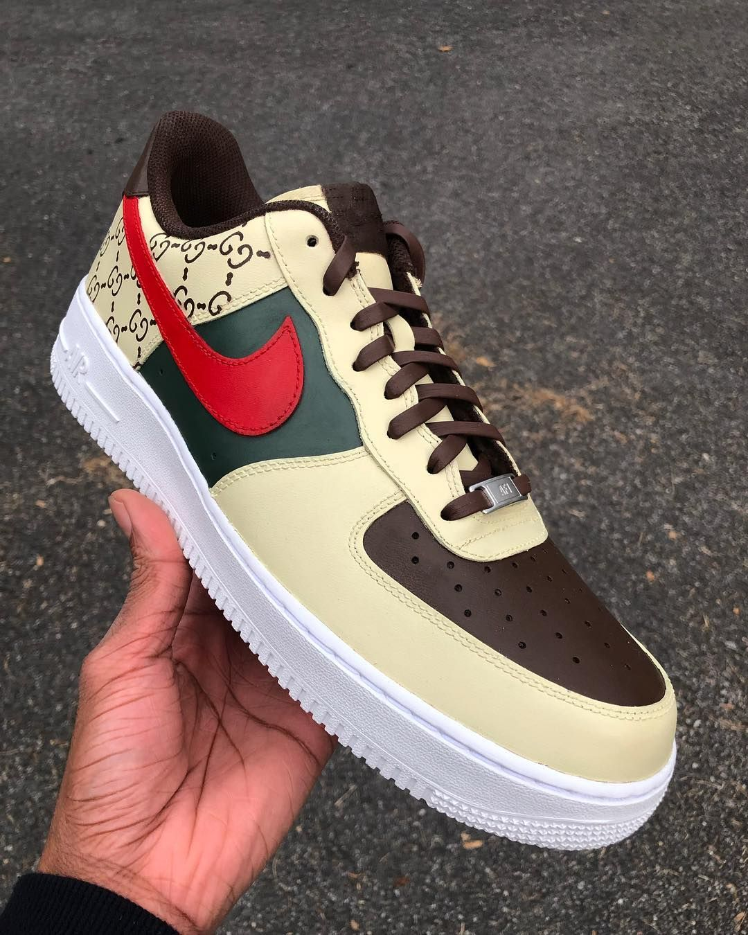 Image may contain shoes Hype shoes, Nike air force ones