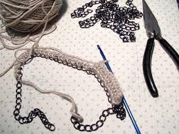 Resultado de imagen para crochet necklace