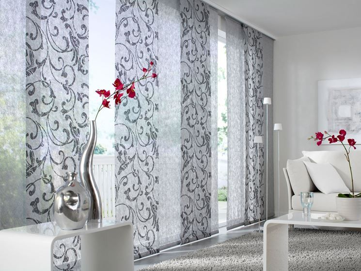 Tende Soggiorno ~ Risultati immagini per tende lunghe per finestre incassate