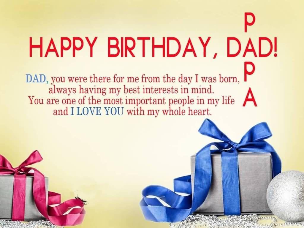 Happy Birthday Dad Happy Birthday Names Pinterest Happy