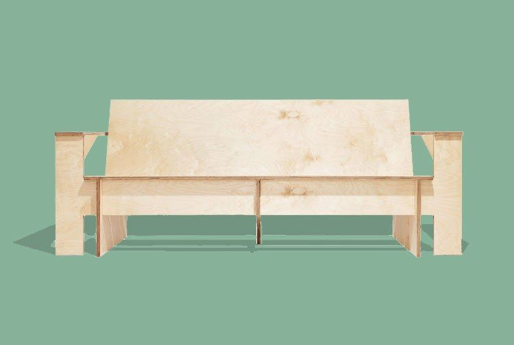 This Zero Waste Furniture Is Made From A Single Sheet Of Plywood Traditional Home Furniture Furniture Affordable Furniture