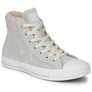 Converse - STAR PLAYER SUEDE SHEARLING MID