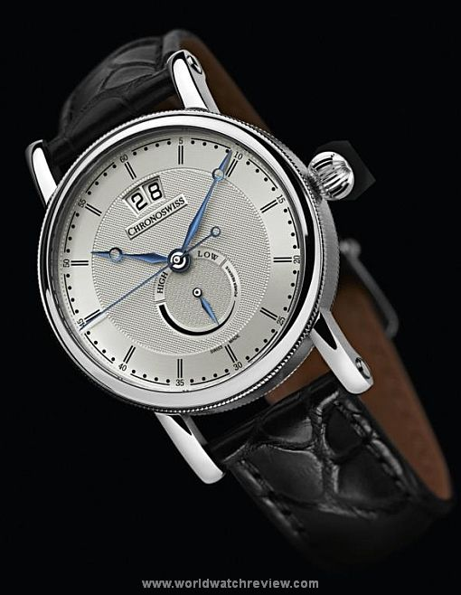 df78a223f77 Chronoswiss Kairodate automatic wrist watch in Stainless Steel