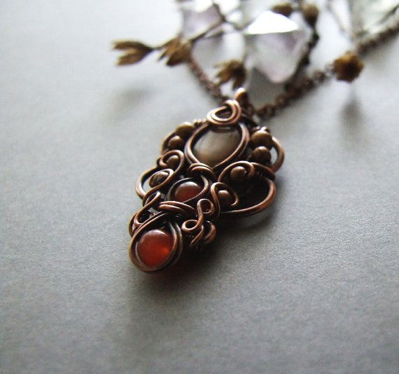 Tutorial wire wrapping pendant tutorial diy bohemian necklace necklace tutorial wire wrapping pendant tutorial diy bohemian necklace jewelry tutorial mozeypictures Image collections