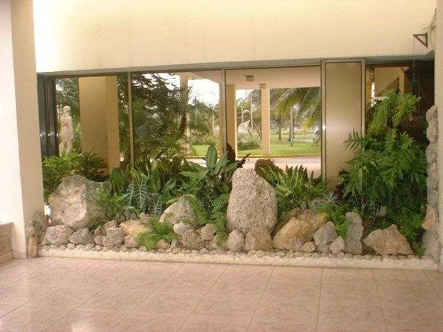 Dise o de jardines interiores buscar con google - Diseno de jardines interiores ...