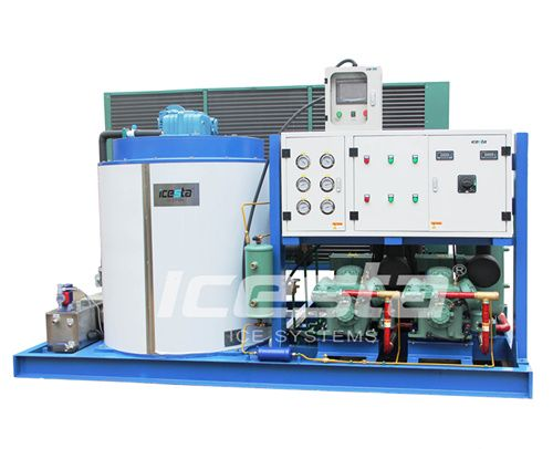 Industrial Commercial 1 100 Ton Flake Maker Slurry Ice Making