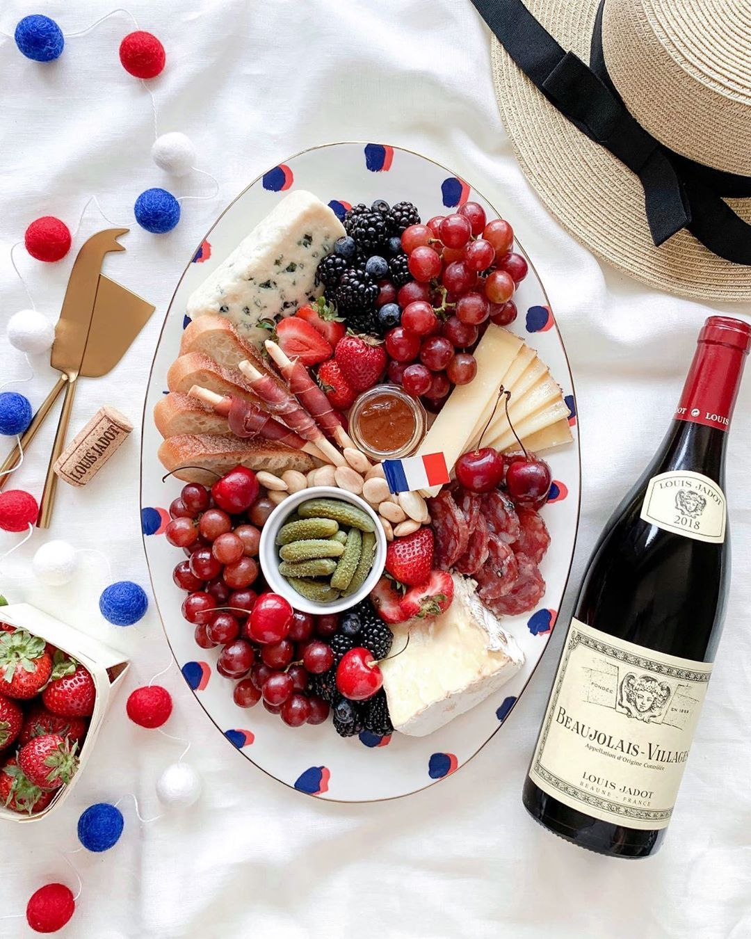 223 Likes 8 Comments Louis Jadot Usa Lovejadot On Instagram Saint Andre Comte And Roquefort Oh My Oui Love This In 2020 French Cheese Cheese Board Roquefort