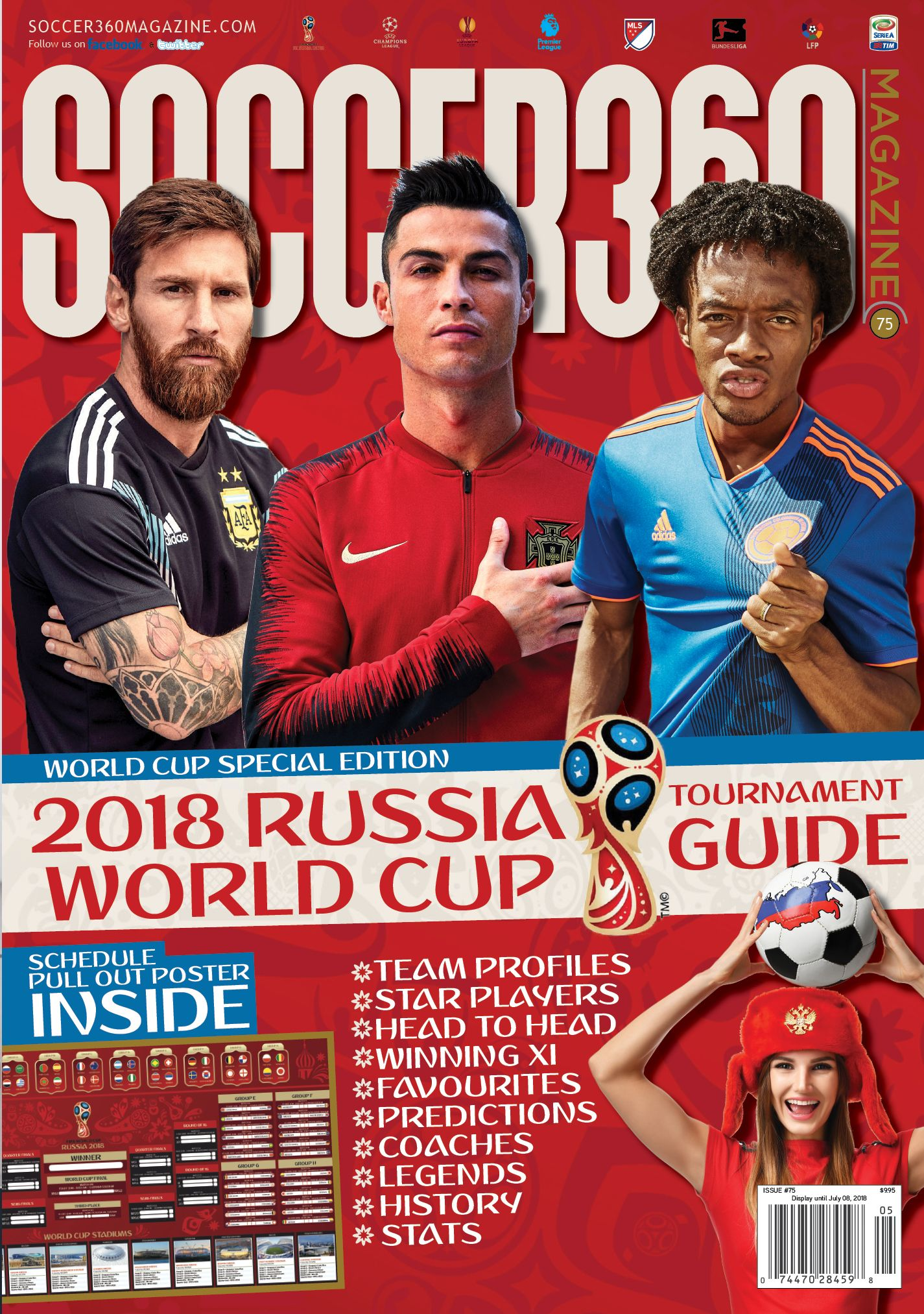 0c343d913 Soccer 360 Magazine World Cup Russia 2018 Special Edition The Complete  Guide to the World Cup Featuring a 28