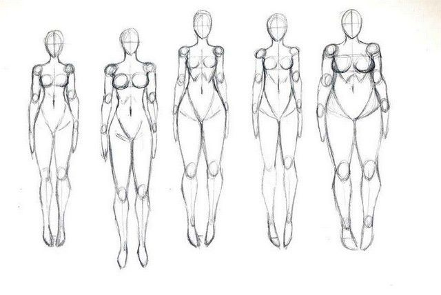 Body Types 2 By Lisannexd D73s64e Jpg 640 428 Body Type Drawing Body Shape Drawing Drawings