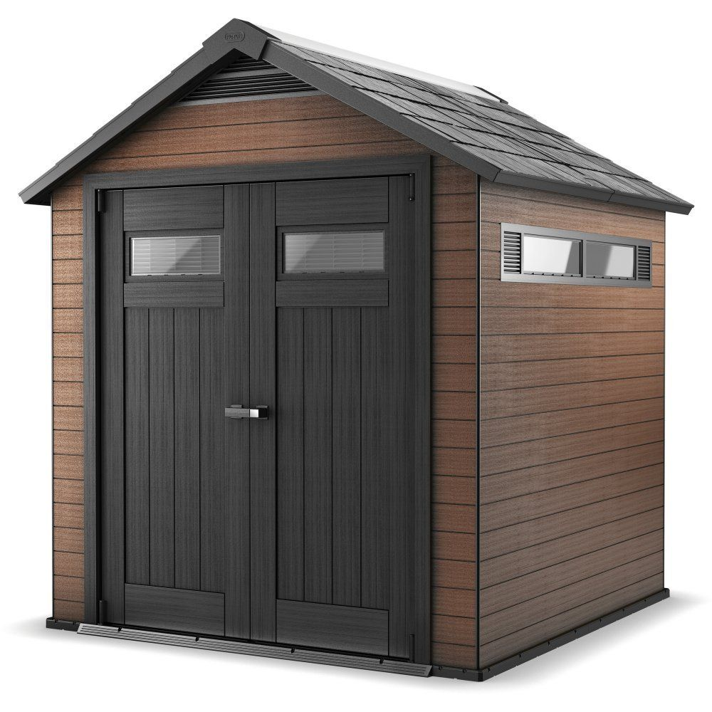 revendeur 2b349 3dffa Keter Fusion 757 Shed 7.7ft x 7ft. A composite mix of wood ...