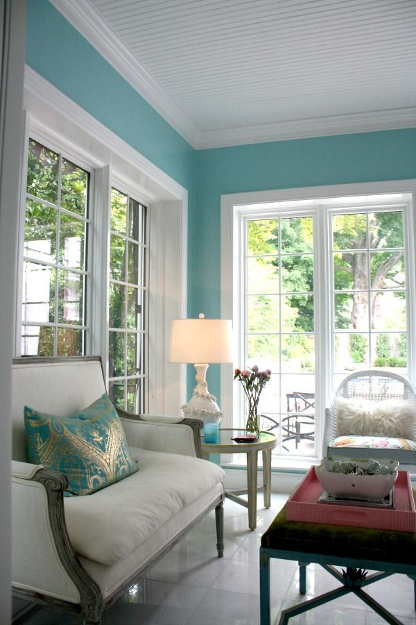 Inspired By Jennys Love For Water And Coastal Style This Soothing Paint Color Farrow Ball