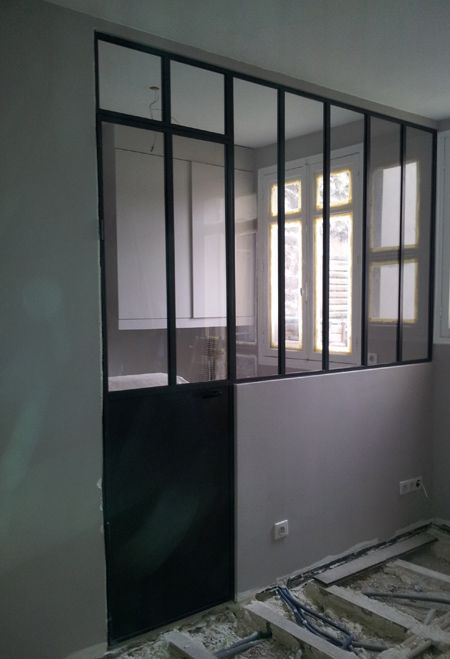 porte of avec imposte fixe et verri re 5 vitrages homes of my dreams pinterest verri re. Black Bedroom Furniture Sets. Home Design Ideas
