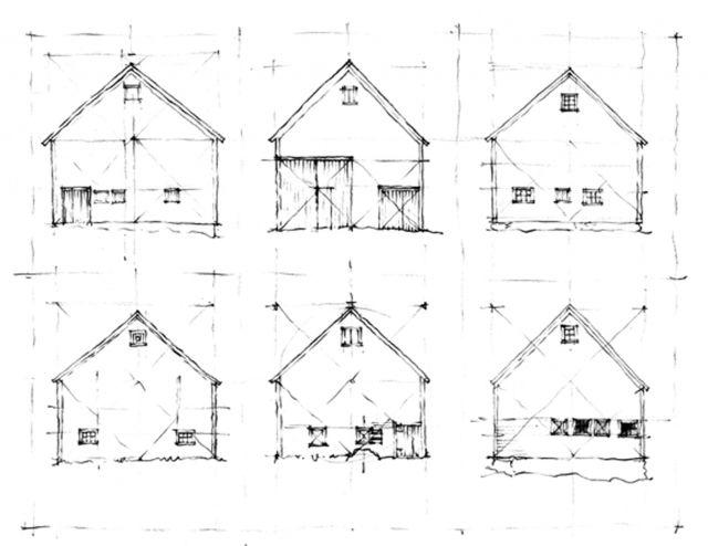Q A Brian Mackay Lyons Architecture Sketch Vernacular