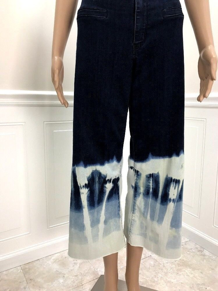 15632e6671 But there's plenty more to choose from in my store! #cropped #flare  #bleached #customjeans #frayed #denim #ombre #cropped CUSTOM Cropped Flare  Denim ...